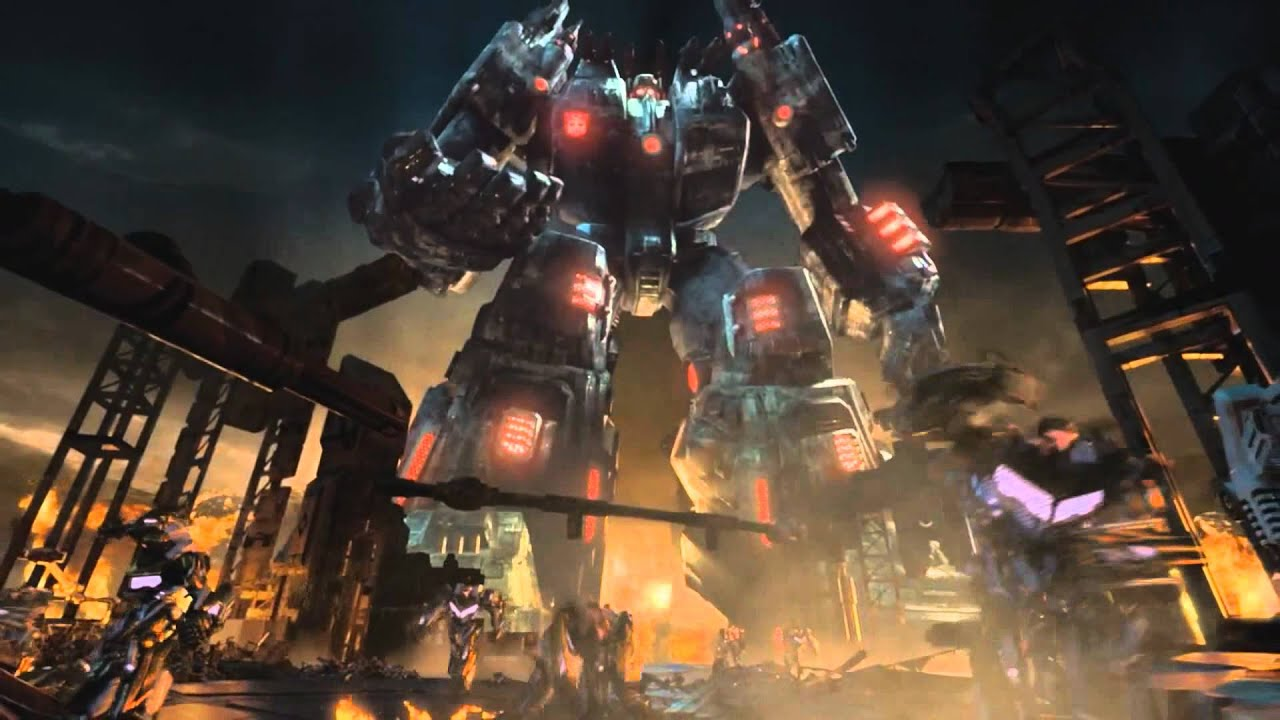 Transformers Fall Of Cybertron 4k Wallpaper Transformers Fall Of Cybertron Metroplex Heeds The Call