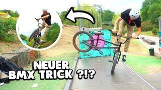 Schaffe ich diesen BMX TRICK ? 😱 (Footjam Tailwhip)