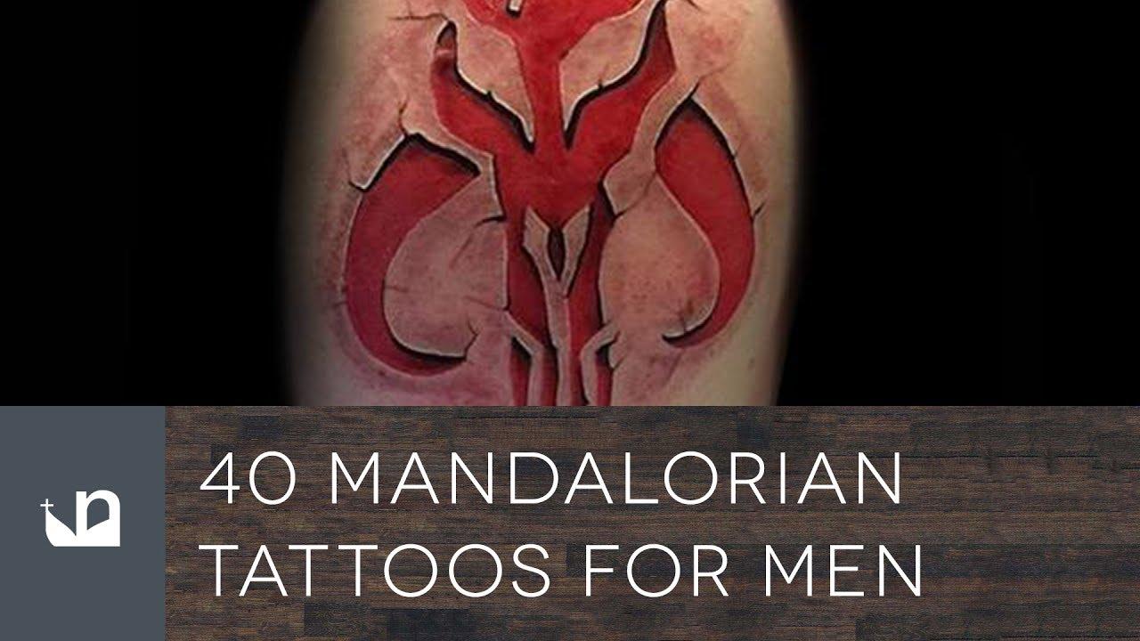 Mandalorian Tattoo: 40 Mandalorian Tattoos For Men