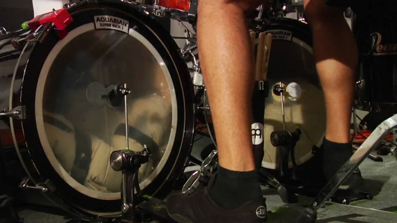 Heel Toe Kick >> Heel Toe Bass Drum Lesson Youtube