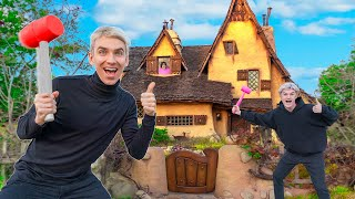 WE BROKE INTO MYSTERY NEIGHBOR HOUSE!! (New Evidence Clues Found)
