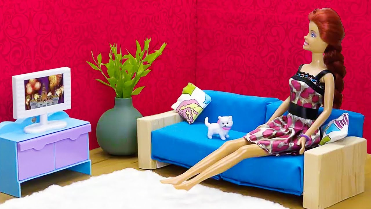 25 Diy Miniature Doll House Room And Furniture Ideas  Youtube