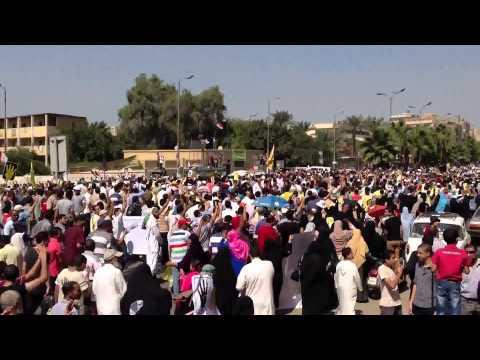 أكبر حشد فى تاريخ شارع الهرم    الجمعة 30/08/2013 HD