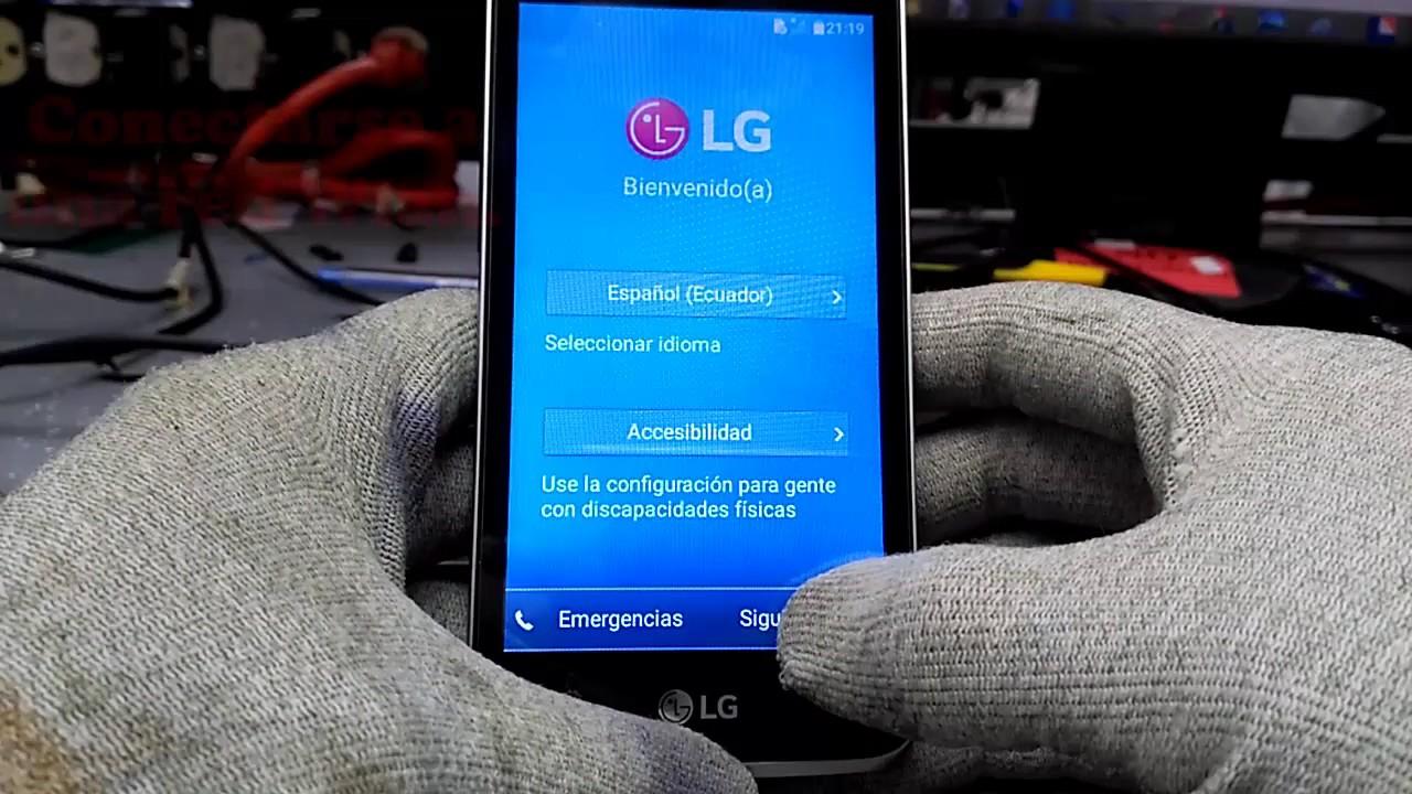 Mobile Info: LG K4 Reset