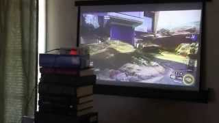 AAXA ST200 LED Projector 720P HD with Xbox 360