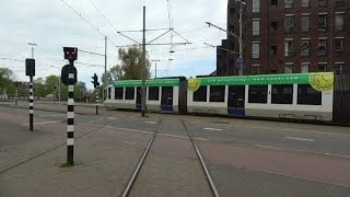 HTM R-NET tramlijn 11 Station Hollands Spoor - Scheveningen Haven | Siemens Avenio 5021 | 2017