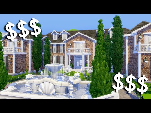 I Built a Million Dollar Mansion in The Sims 4