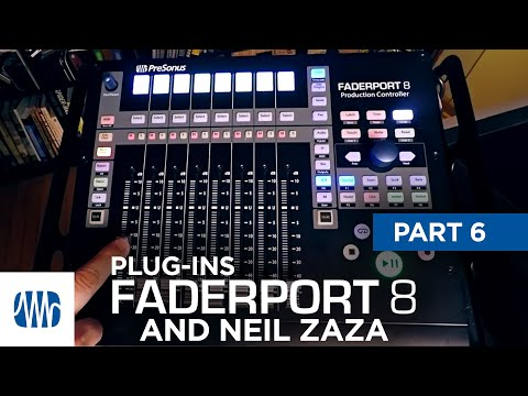 PreSonus—Neil Zaza on the Faderport 8 Part 6: Plugins