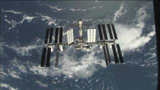 Space Shuttle Discovery Flyaround of International Space Station 2009