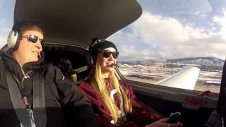 US Vail Valley Flight Lesson (30sec review)