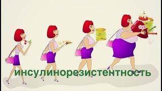 Метаболический синдром // Инсулинорезистентность и похудение Ч. 1 // преддиабет