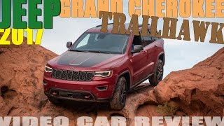 2017 Jeep Grand Cherokee Trailhawk sand & rock review