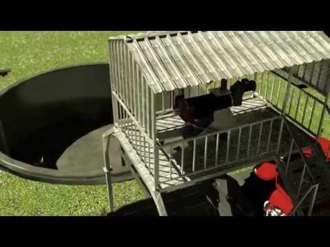 EYS - Manure Management Equipment - Dairy Farm - Animation