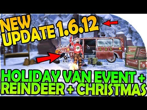 NEW UPDATE 1.6.12 - CHRISTMAS, HOLIDAY VAN EVENT, REINDEER- Last Day On Earth Survival 1.6.12 Update