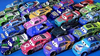 Cars 3 Piston Cup Racers Complete Collection of Diecast Mattel Disney Pixar Cars 3 Toys for kids