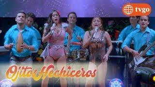 ¡Estrella se reencuentra con la Faraona de la Cumbia! - Ojitos Hechiceros 17/05/2018