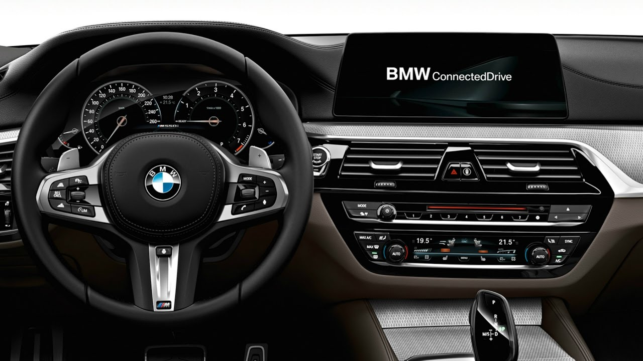 2017 Bmw 540i M Sport Interior Youtube