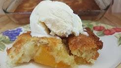 Peach Cobbler -100 Year Old Recipe -The Hillbilly Kitchen