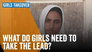 What do girls need to take the lead?