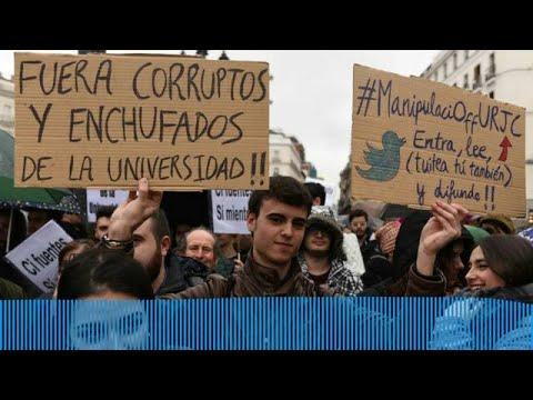 El bochorno de los alumnos de la Universidad Rey Juan Carlos