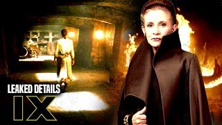Star Wars Episode 9 Scene Leaked Details Of Leia & More! (Star Wars News)