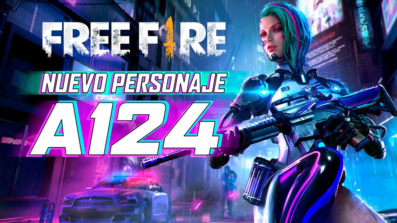 Resultado de imagen para nuevo personaje en free fire a124