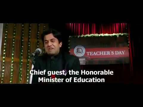 Download Silencer Speech On 5th Sept(3 Idiots) English Subs lol