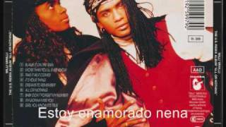 milli vanilli girl you know its true(español) ariel nep08ar@hotmail.com
