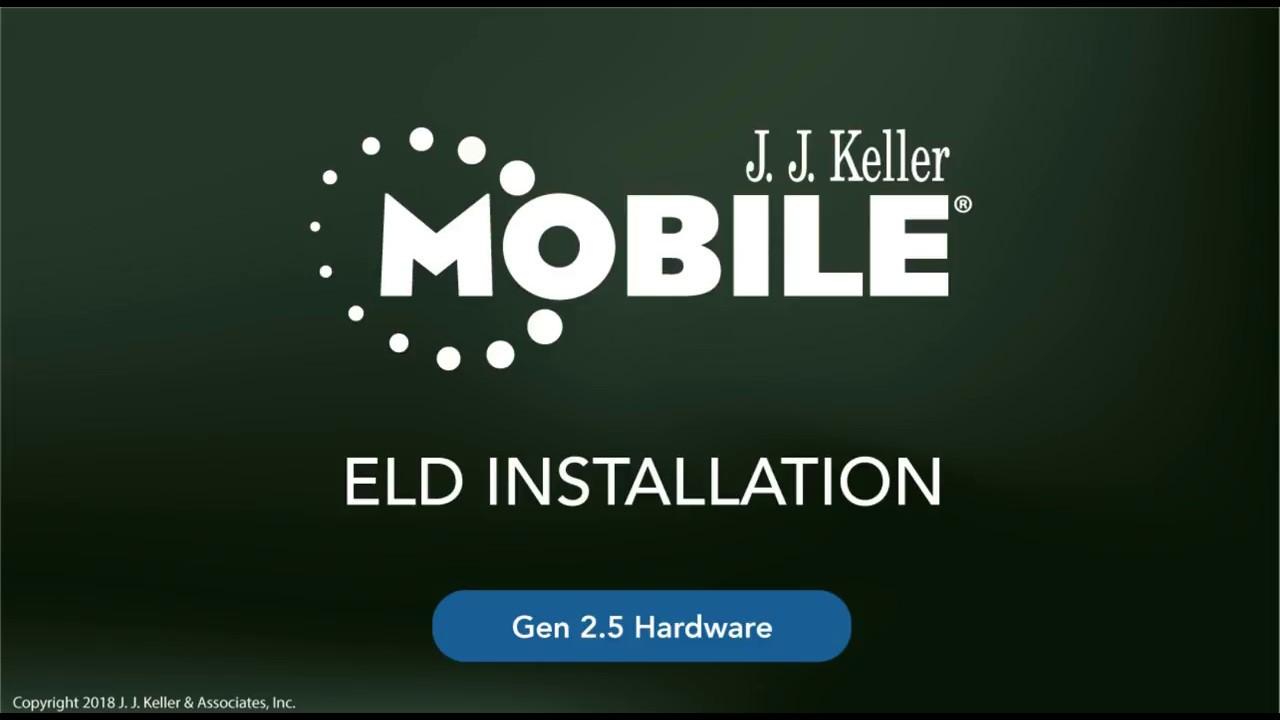 KellerMobile® 2 5 ELD Hardware Installation