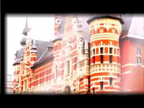 Travel around the world  Antwerp, Belgium  Cogels Osylei, a mix of architectural styles