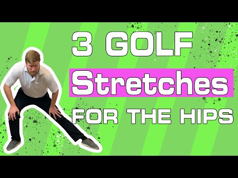 Golf Swing Hip Turn & Hip Tightness – 3 Flexibility Exercises for Home
