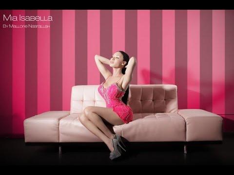 Mia Isabella Spokesmodel for fashion brand Michelle Levelle Commercial