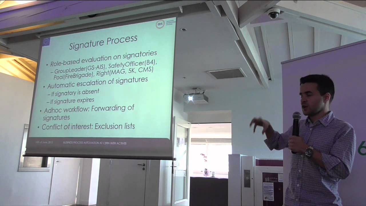 Download Business Process Automation at CERN with Activiti