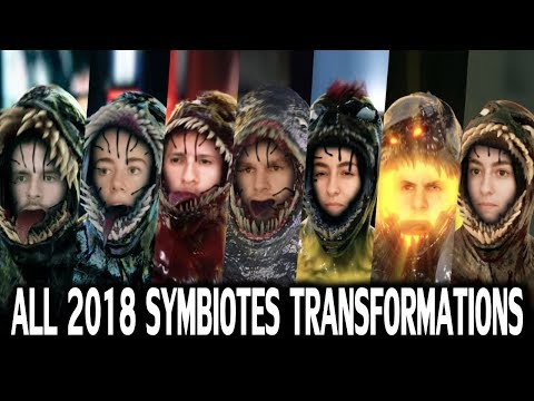 All 2018 JMMates Symbiotes Transformations (We are VENOM) Which is the Best?