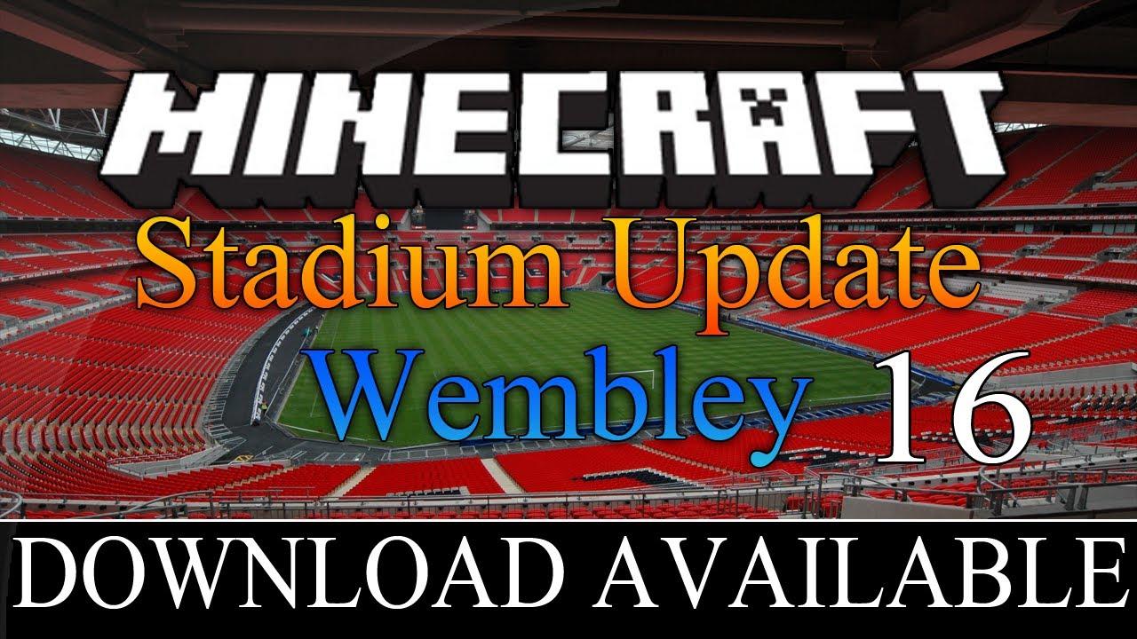 ITStheMARKEY Stadiums Minecraft Megabuild Englands
