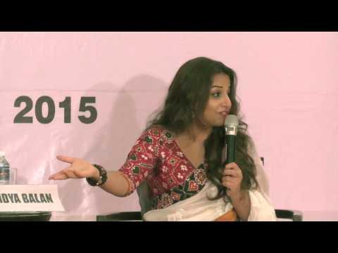 Vidya Balan interview at Women Economic Forum May 2015