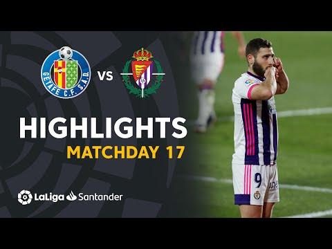 Getafe Valladolid Goals And Highlights