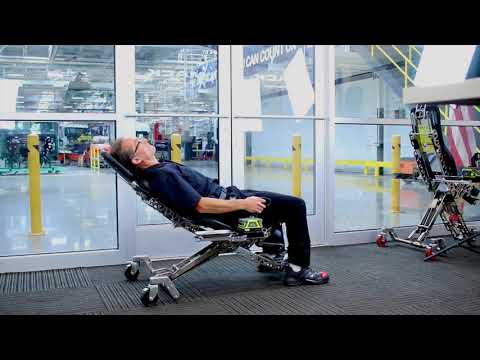 Human Hoist Power Shop Chair
