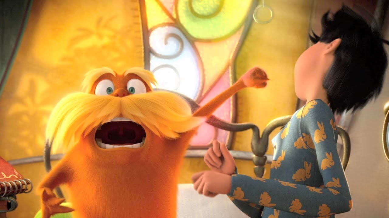 Dr Seuss The Lorax Trailer 2 Hd Youtube