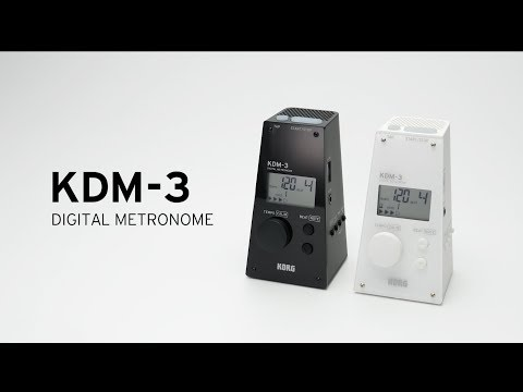 KORG KDM-3 - The compact, powerful metronome with a classic design