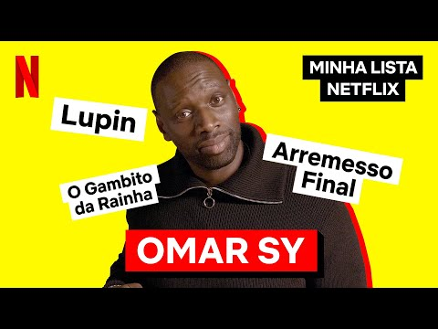 Minha Lista Netflix com Omar Sy | Netflix Brasil