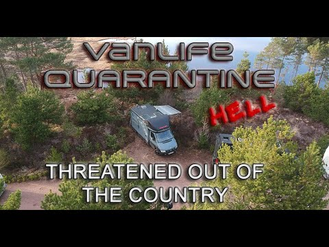 Vanlife Quarantine: Forced to leave & hit the border. [Episode 1]