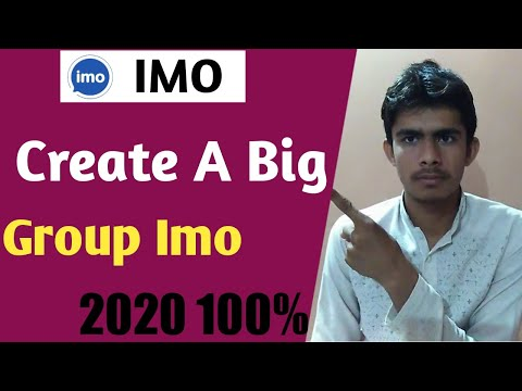 How To Create Group In Imo 2020 / How To Imo Big Group  New Function / Imo Group Level Kaise Bhadaye