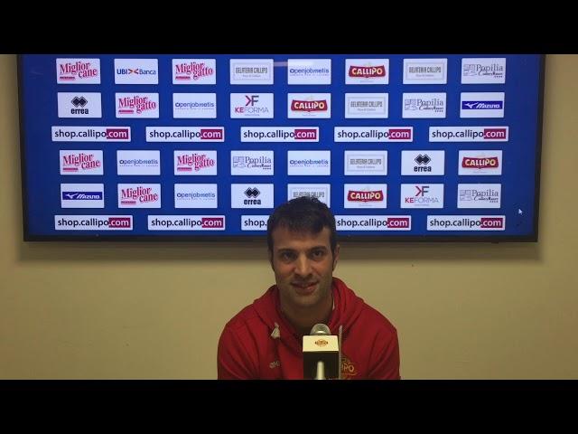 Il vice coach Battocchio: