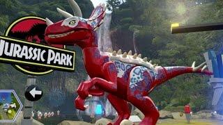 LEGO Jurassic World - Jurassic Park Hub 100% Guide #1 - Brachiosaurus Plains & Raptor Territory