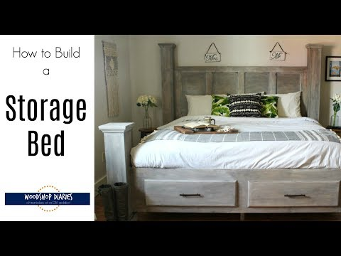 How to Build a DIY Storage Bed