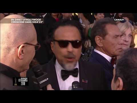 Alejandro Gonzalez Inarritu sur le Tapis rouge - Oscars 2018