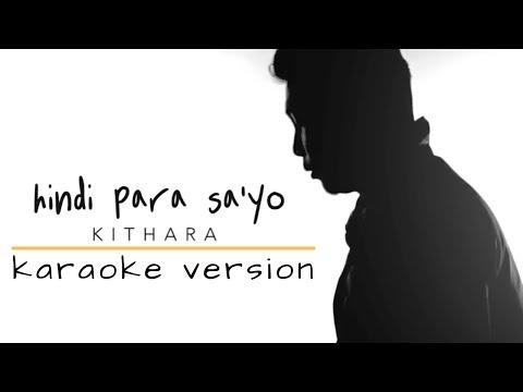 Hindi Para Sa'yo - Kithara (Karaoke)