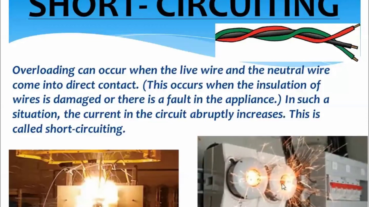 domestic electric circuits, electric fuse, overloading, shortdomestic electric circuits, electric fuse, overloading, short circuiting,