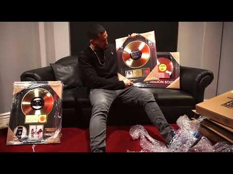 "RIAA Platinum & Gold Plaque Unboxing ""Producers Edition"""